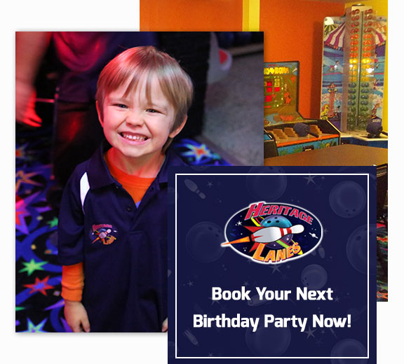 Book Your Next Birthday Party Now!